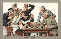Rare Germany and Austria against Allies in Chess