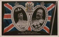 The British Empire - King Edward VII and Queen Alexandria