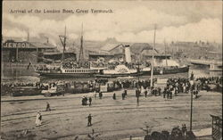 Arrival of the London Boat, Great Yarmouth
