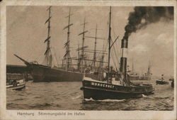 Atmosphere in Hamburg Harbor