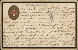 Official military mail from Austria to Turkey Red Cross