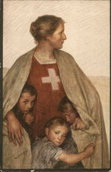 Swiss National Day - Red Cross