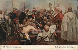 The Cossacks, by Repine Russian Red Cross