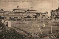 The Casino and Tennis Court - Mers-les-Bains