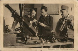 French: Repairing Machine Guns