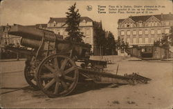 Ypres: German gun of 21 cm