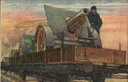 Balkanzug #7 Gun Transport by Railroad
