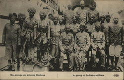 A Group of Indian Soldiers