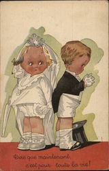 French: Little Bride and Groom