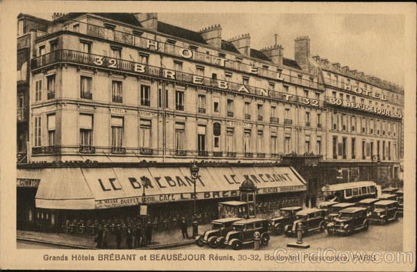 Grands Hotels Brebant et Beausejour Paris France