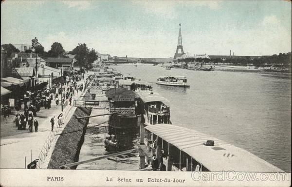 The Seine at Point-du-Jour
