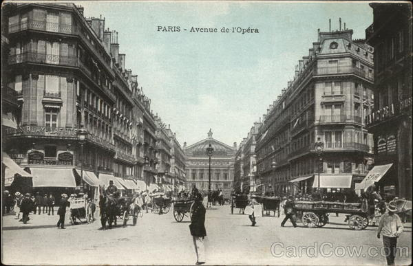 Avenue de l'Opera Paris France