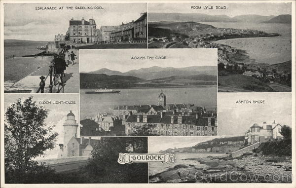 Greetings from Gourock Scotland