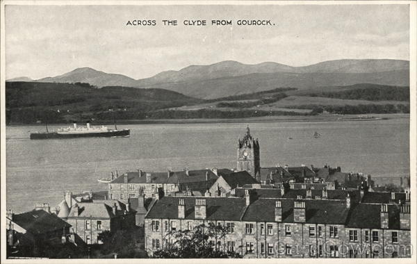 Across the Clyde from Gourock Scotland