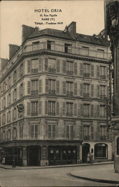 Hotel Oria Paris France