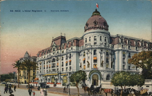 Nice, L'Hotel Negresco