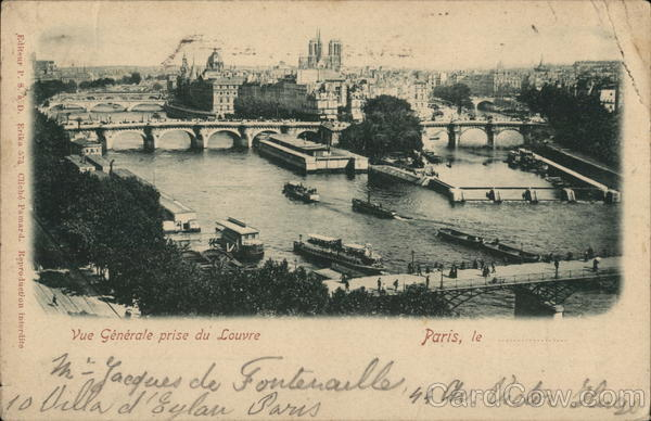 General View from the Louvre