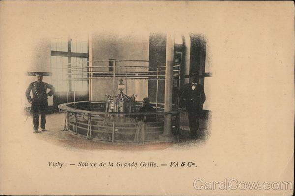 La Source de la Grande Grille Vichy France