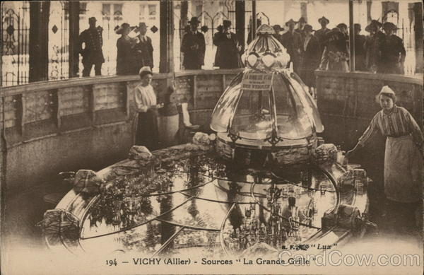 Source Grande Grille Vichy France