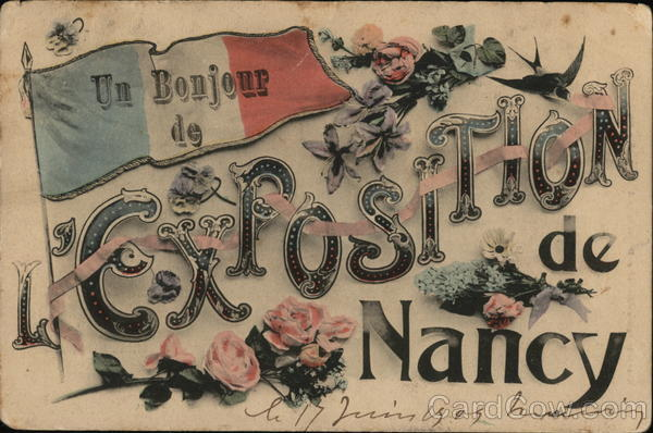 Greetings from the Nancy Exposition
