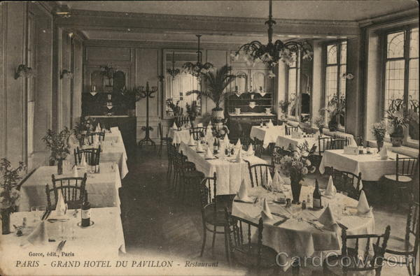 Grand Hotel du Pavillon - Restaurant