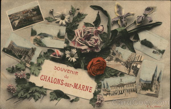 Greetings from Chalons-sur-Marne