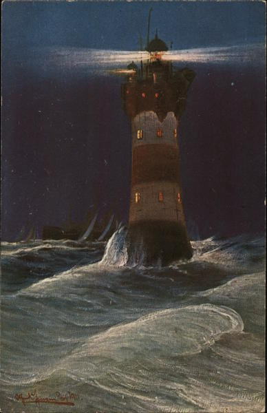 A lighthouse - Roter Sand Germany