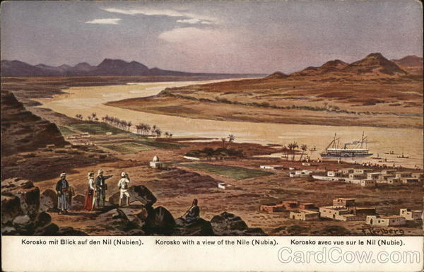 Korosko with a view of the Nile (Nubia) Egypt Africa