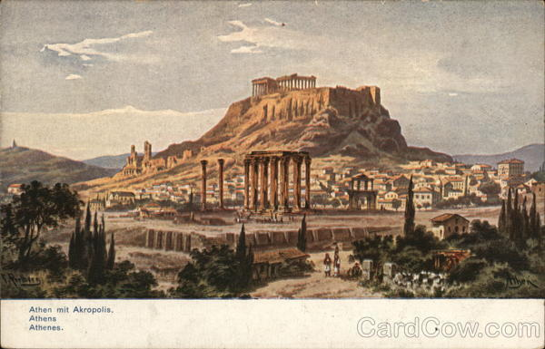 The Acropolis Athens Greece Greece, Turkey, Balkan States