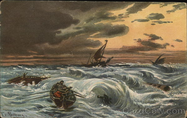 Rough Seas Art