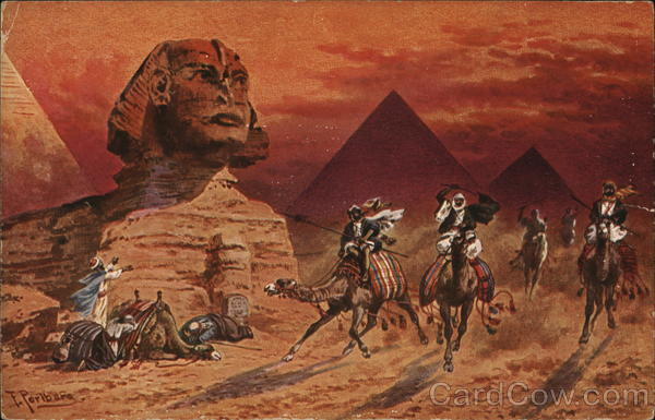 The Great Sphinx of Giza Nazlet El-Semman Egypt Africa
