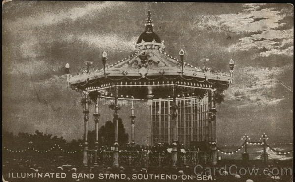 Illuminated Band Stand Southend-on-Sea England