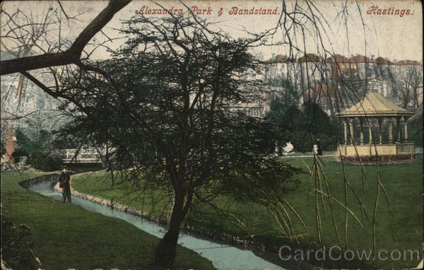 Alexandra Park & Bandstand Hastings England Sussex