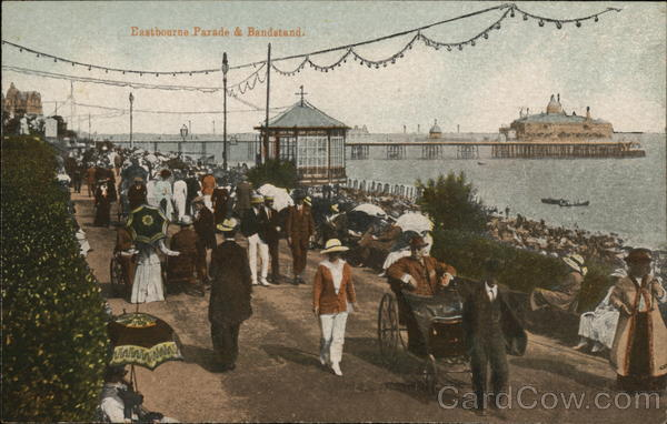 Parade & Bandstand Eastbourne England Sussex