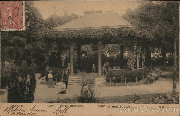 Parc de Montsouris - Bandstand