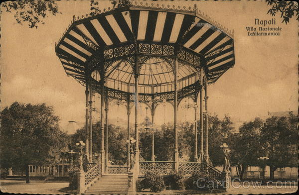 Villa Nazionale - Band Stand Naples Italy