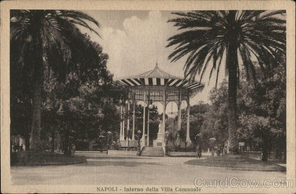 Villa Communale - Band Stand Naples Italy