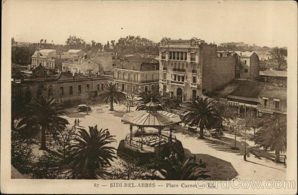 Place Carnot Sidi Bel Abbes Algeria Africa