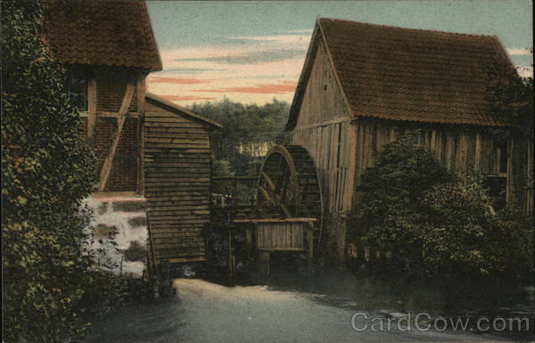 Water Mill, Luneberg Heath Munster Germany