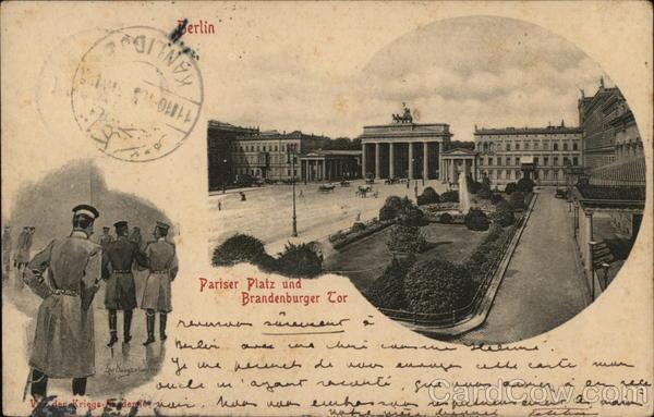 Pariser Platz and Brandenburger Tor