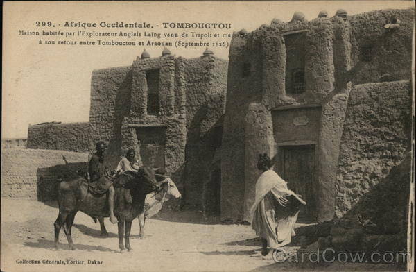 Afrique Occidentale Timbuktu Mali Africa