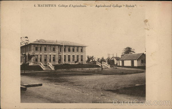 Agricultural College Moka Mauritius Africa