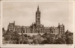 The University Glasgow Postcard
