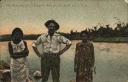 The discovery of the Chagres River by the good old USA