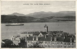 Across the Clyde from Gourock Postcard