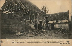 War 1914-15-16-17 In the Oise - The Germans Retreat -