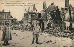 France Reconquire 1917 - Chauncy (Aisne)
