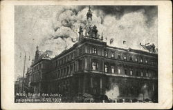 Fire at the Palace of Justice