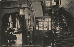 Entrance Hall, Victoria park Hotel Barrow-in Furness
