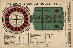 The Monte Carlo Roulette - How to Place One's Stakes